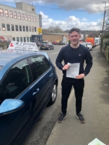 Intensive Driving Courses Leeds - 14th March 2019 Practical Driving Test Pass